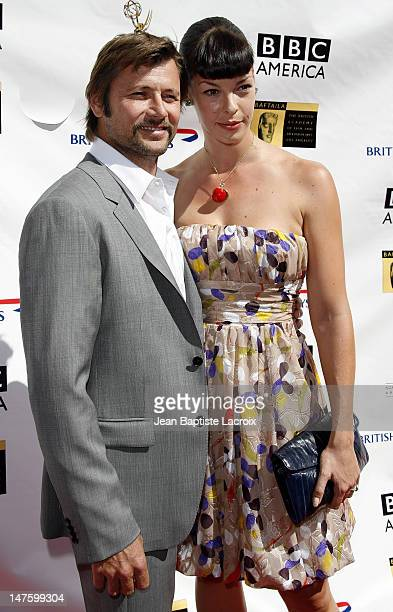 Grant Show and Pollyanna McIntosh arrives at the 5th Annual Primetime Emmy Nominees' BAFTA Tea Party at Wattles Mansion on September 15 2007 in Los...