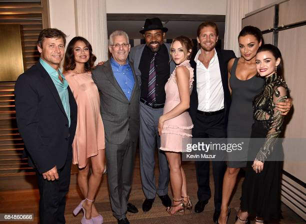Grant Show Nathalie Kelley President The CW Network Mark Pedowitz Cress Williams Elizabeth Gillies Matt Barr Christina Ochoa and Lucy Hale attend The...