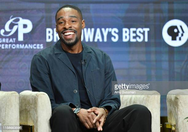 Grantham Coleman of Much Ado About Nothing speaks during the 2019 Summer TCA press tour at The Beverly Hilton Hotel on July 30 2019 in Beverly Hills...