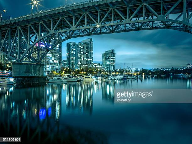 Granville  Bridge at night