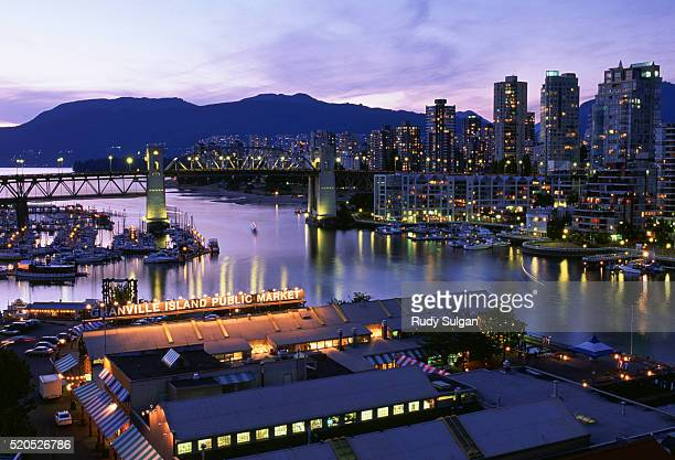 Granville Island and False Creek
