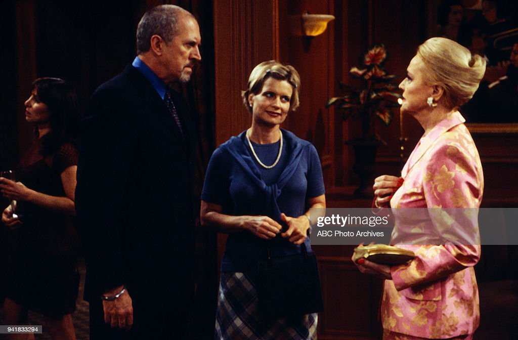 Granville Van Dusen, Mary Beth Evans, Anne Jeffreys on 'Port Charles'.