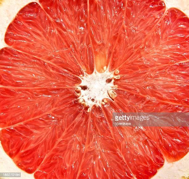 Grapefruit. Close-up.