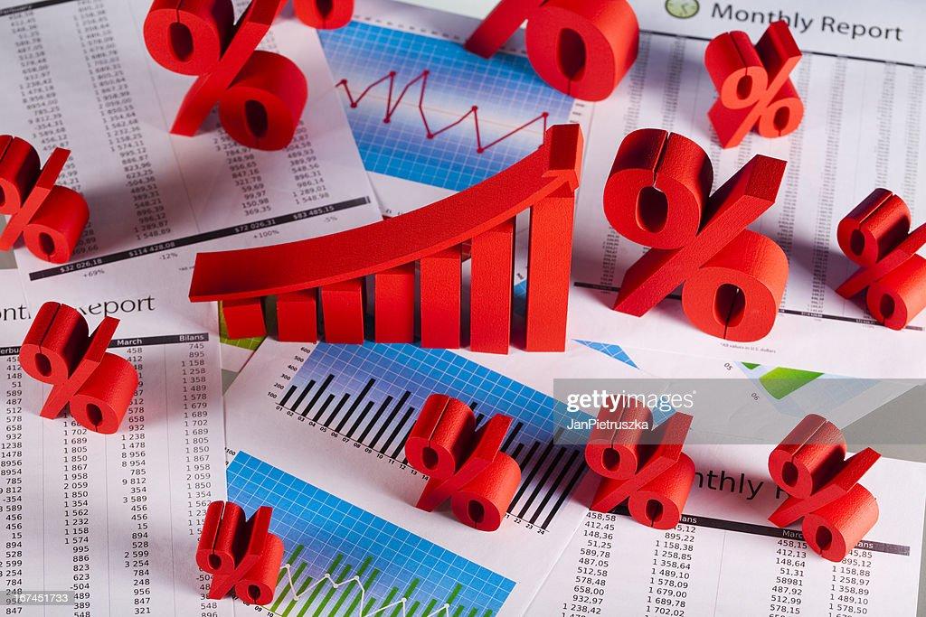 Graph diagram : Stock Photo