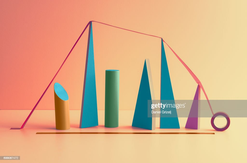 Graph : Stock Photo