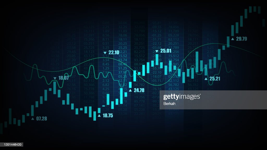 graphic concept suitable for financial investment : Stock-Foto
