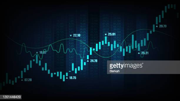 graphic concept suitable for financial investment - börse stock-fotos und bilder