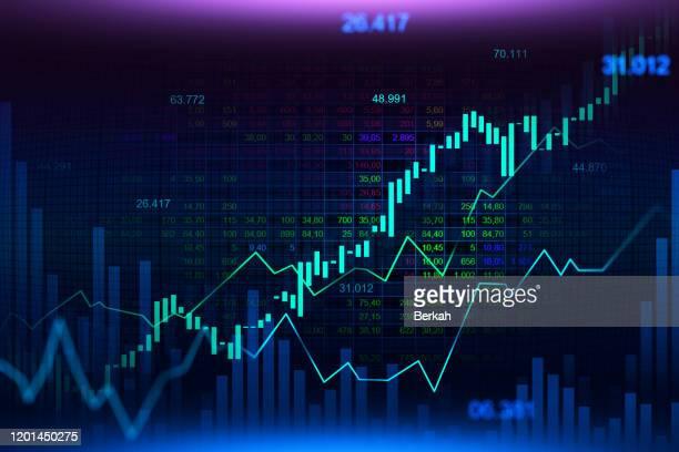 graphic concept suitable for financial investment - kryptowährung stock-fotos und bilder