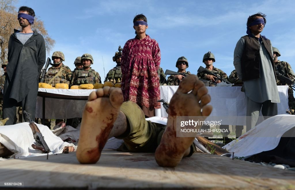 TOPSHOT-AFGHANISTAN-UNREST-SECURITY : News Photo