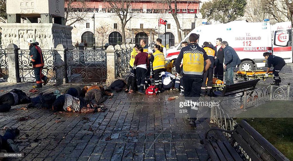 TOPSHOT-TURKEY-BLAST : News Photo