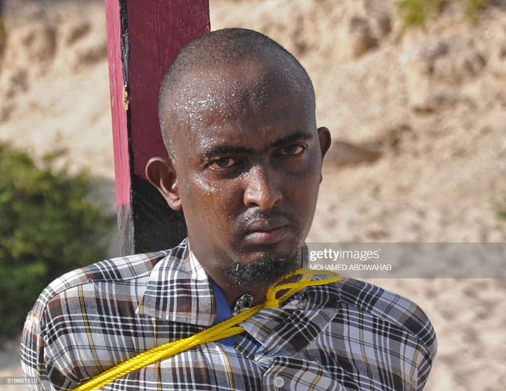 SOMALIA-EXECUTIONS-CRIME-MEDIA-UNREST : News Photo