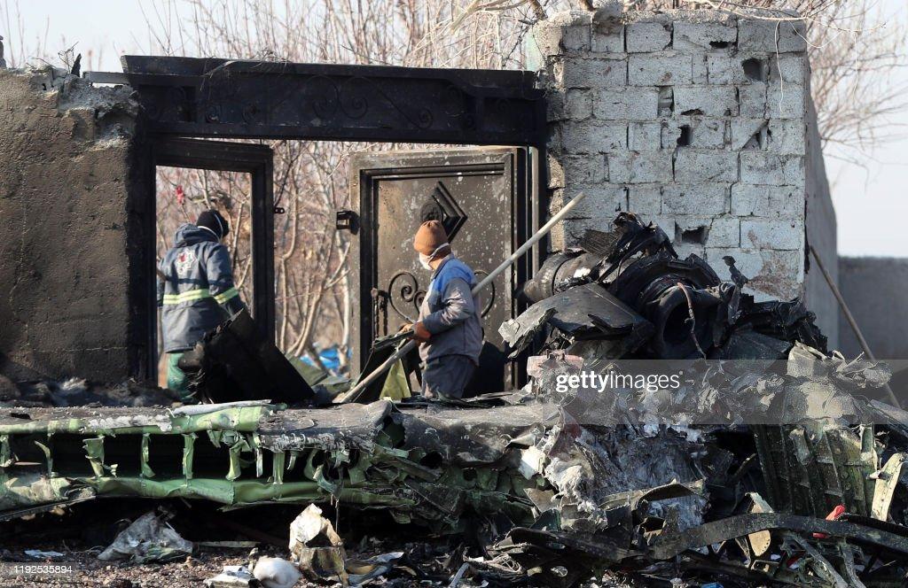 IRAN-UKRAINE-AVIATION-ACCIDENT-TOLL : Fotografia de notícias