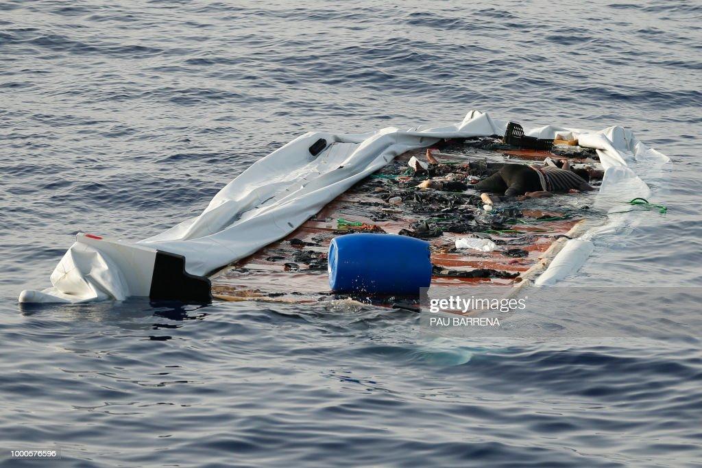 LIBYA-EU-MIGRANTS-RESCUE : Foto di attualità