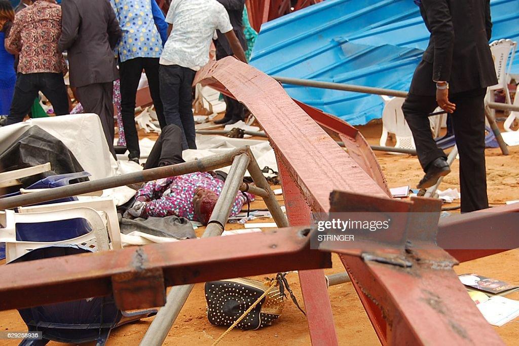 NIGERIA-ACCIDENT-CHURCH-RELIGION : Nachrichtenfoto