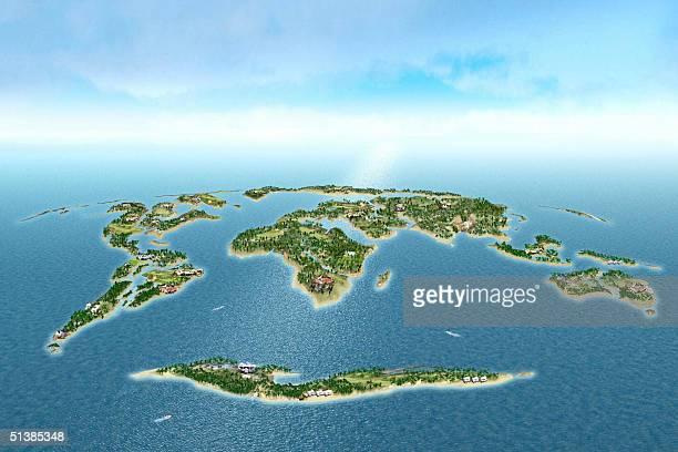 30 Hochwertige Dubai World Islands Bilder und Fotos - Getty ...