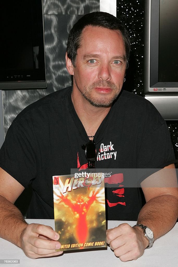Graphic novel artist Tim Sale attends the NBC Universal celabration for the DVD realease of 'Heroes: Season 1' at the NBC Experience store on August 28, 2007 in New York City.