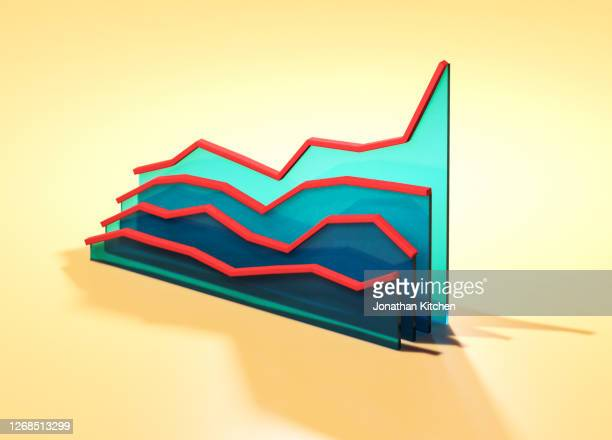 graphic of a graph 3 - winning stock pictures, royalty-free photos & images