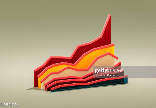 graphic of a graph 4 - business finance and industry stock pictures, royalty-free photos & images