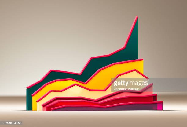 graphic of a graph 5 - growth stock pictures, royalty-free photos & images