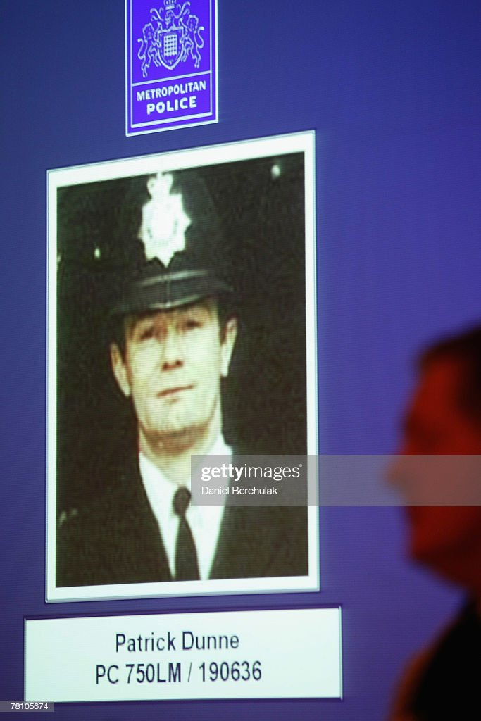 PC Patrick Dunne Honoured Fourteen Years After His Murder : News Photo
