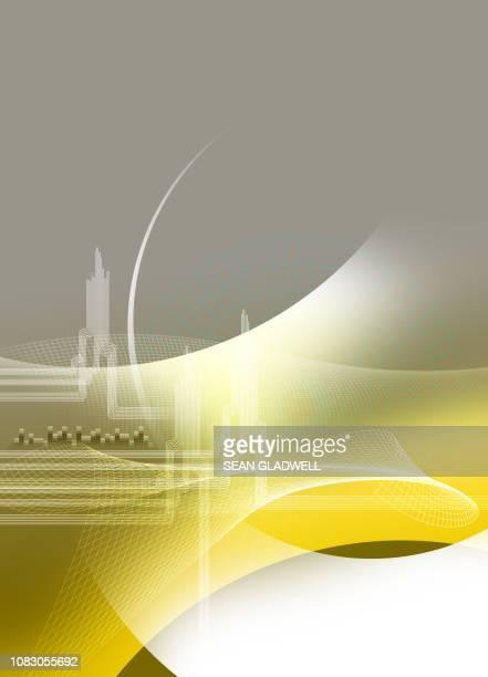 graphic presentation backdrop - digital marketing foto e immagini stock