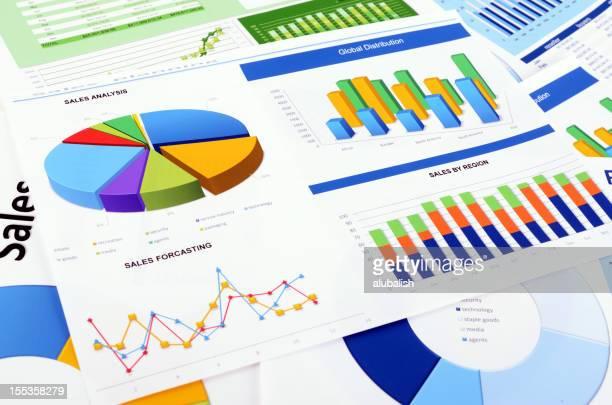 Des graphiques et des diagrammes