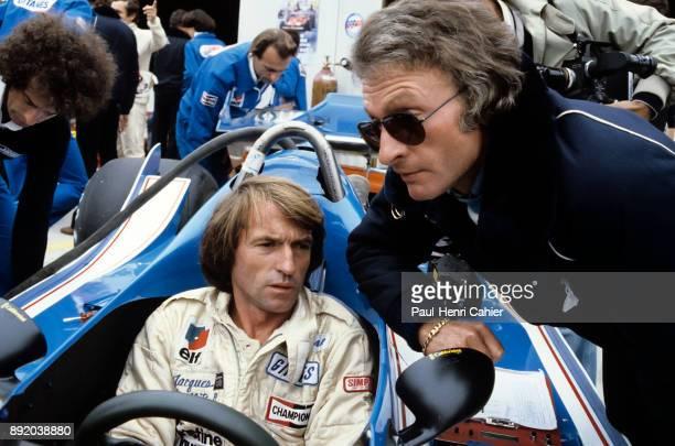 Gérarad Ducarouge Jacques Laffite LigierFord JS11 Grand Prix of Canada Circuit Gilles Villeneuve 30 September 1979 Gérard Ducarouge engineer in chief...