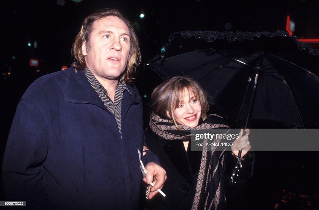 Gérard et Elisabeth Depardieu en 1994 : News Photo