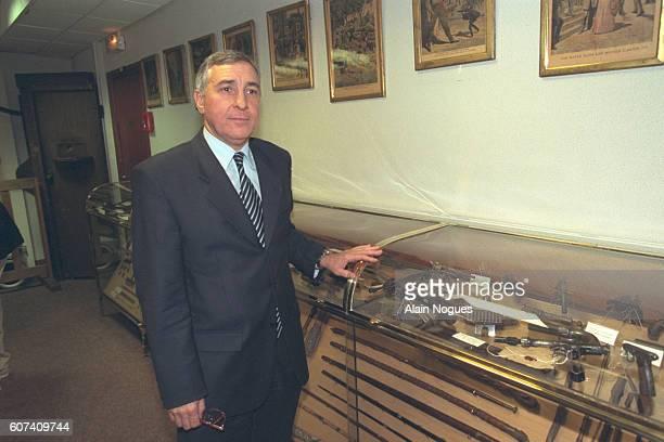 Gérard Girel Head of the Criminal Investigation Department