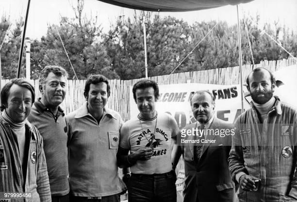 Gérard Larrousse Carroll Shelby Ed Alexander JeanLuc Lagardère Luigi Chinetti Henri Pescarolo 24 Hours of Le Mans Le Mans 10 June 1973 From left to...