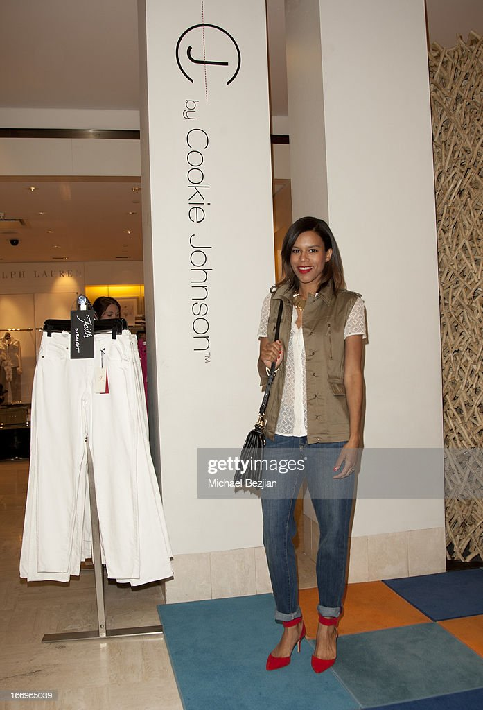 Grasie Mercedes attends Cookie Johnson and Neiman Marcus host Girls Night Out on April 18, 2013 in Beverly Hills, California.