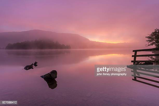 Grasmere lake in the heart of the English Lake District. Cumbria. UK.