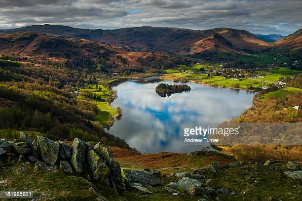 grasmere - cumbria stock pictures, royalty-free photos & images