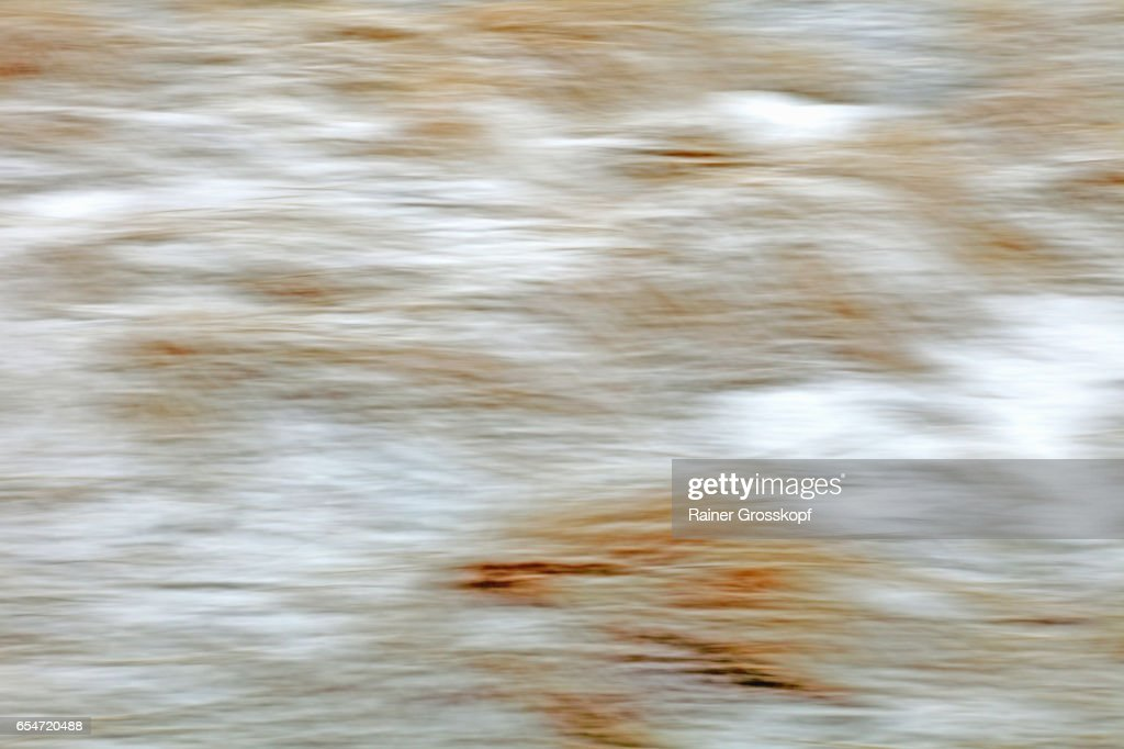 grass and snow in winter (blurred) : Stock-Foto
