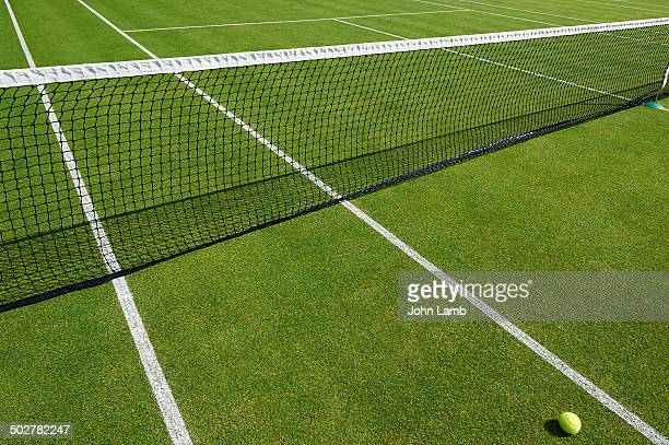 grass court tennis - grass court stock pictures, royalty-free photos & images