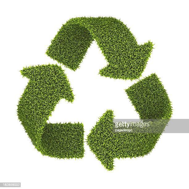 grass recycling symbol