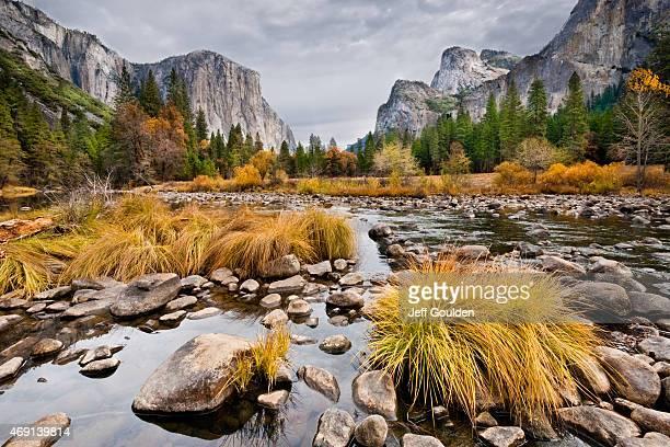 El Capitan and Merced River in the Fall