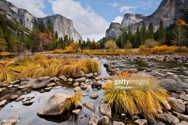 El Capitan and the Merced River in the Fall