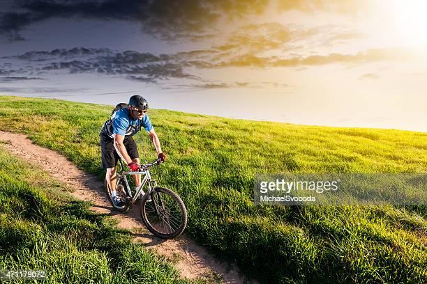 Grassland-Mountainbiker