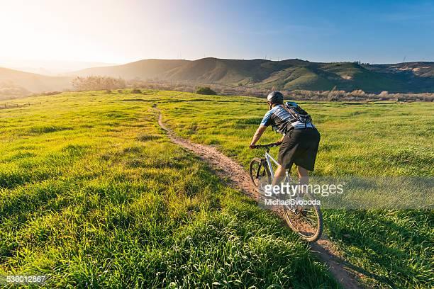 Grassland Mountain Biker