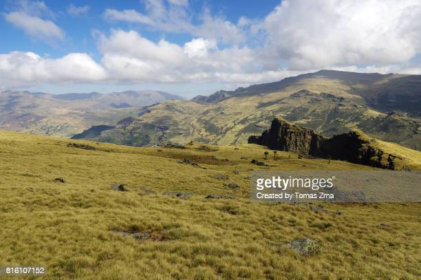 grassy plains below inatye - grass area stock pictures, royalty-free photos & images