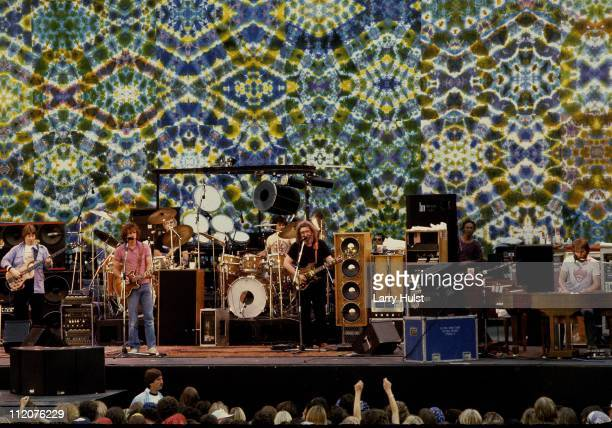 Grateful Dead performing at The Greek theater in Berkeley California on May 13 1983