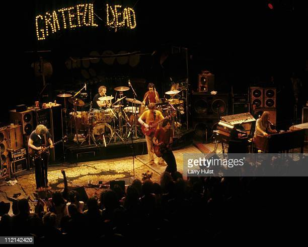 Grateful Dead performing at the Warfield Theater in San Francisco California on October 14 1980