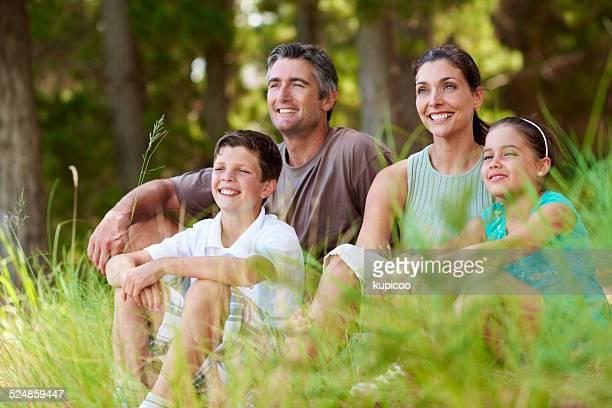 Reconnaissant pour un merveilleux famille