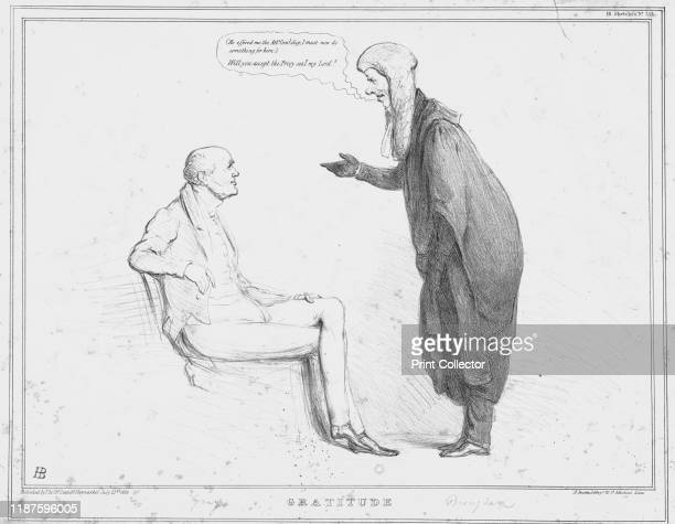 Gratitude' 1834 Lord Chancellor Henry Brougham thinks '' He then says to former prime minister Charles Grey 'Will you accept the Privy seal my Lord'...