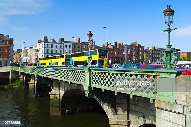 Grattan bridge over the river liffey