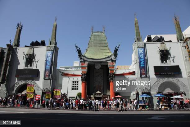 Grauman's Chinese Theater on Hollywood Boulevard