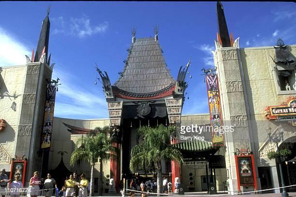 Grauman's Chinese Theatre at Disney MGM Studios in Orlando, Florida