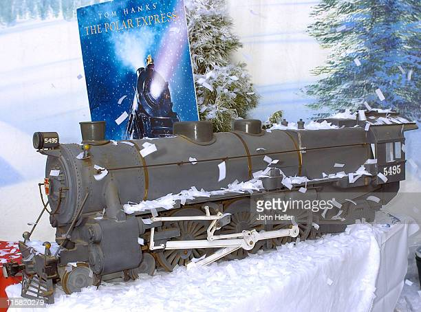 Grauman's Chinese Theatre Forecourt was turned into a Winter Wonderland to give the Harry Potter fans a glimpse of the upcoming move 'The Polar...