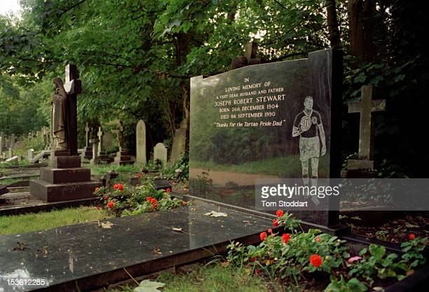 A grave in Highgate Cemetery in north London July 2005 The cemetery is designated Grade I on the English Heritage Register of Parks and Gardens of...